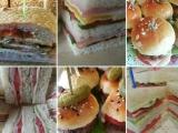 Сэндвичи, бутерброды и мини-бургеры