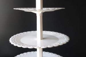 Этажерка пластик для пирожных 4 яруса