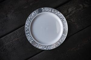 Тарелка десертная пластик